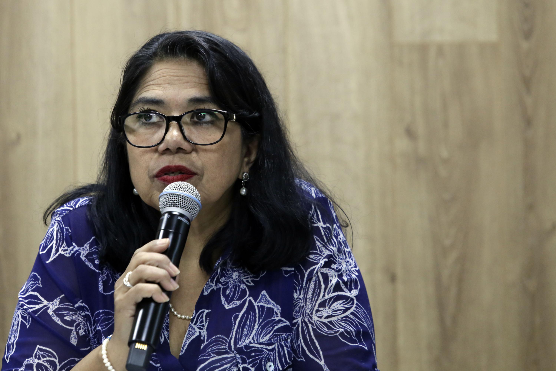 la maestra María Elena Chávez García es Coordinadora de la licenciatura en Trabajo Social