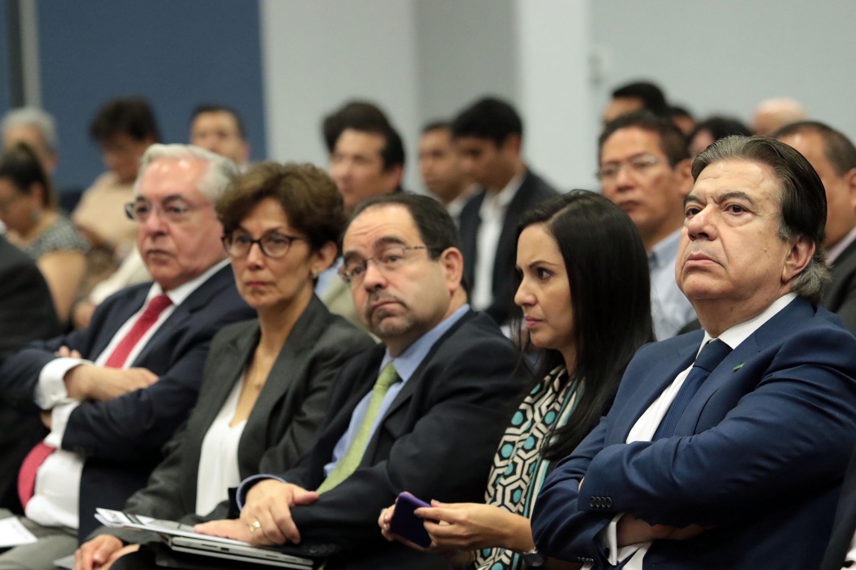Publico asistente a la Reunión Nacional de Administración Pública (RNAP)