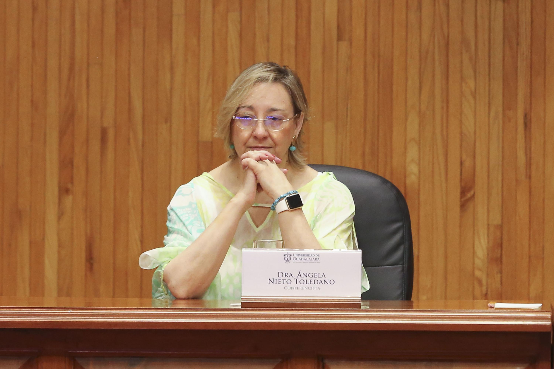 Doctora María Ángela Nieto Toledano, investigadora del Instituto de Neurociencias de Alicante, España y ganadora del Premio México de Ciencia y Tecnología 2017.