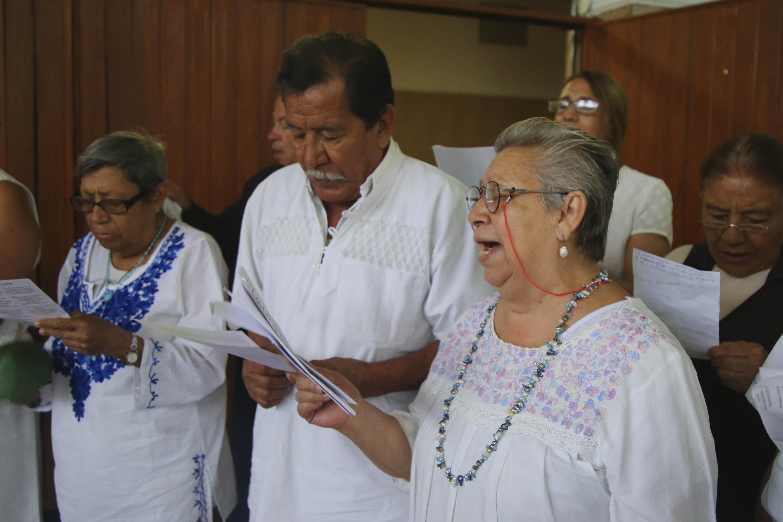 Estudiantes del SUAM UDG que integran el coro musical