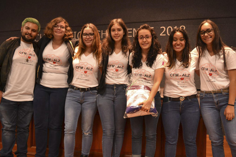Estudiantes de la Escuela Politécnica de Guadalajara y de la Vocacional que representarán a México alumnas del SEMS en la final mundial de Technovation Challenge en San Francisco, California