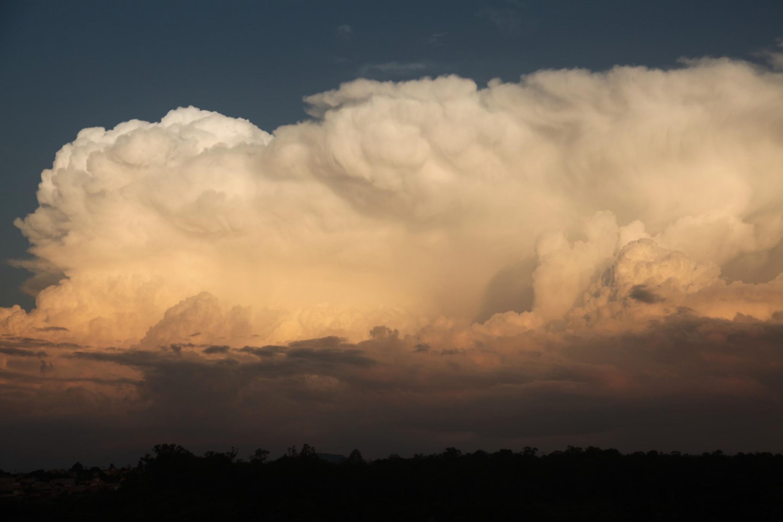 Vista panorámica de unas nubes