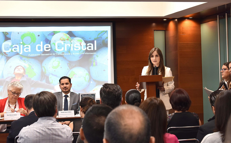 licenciada Cynthia Patricia Cantero Pacheco es la comisionada presidente del ITEI