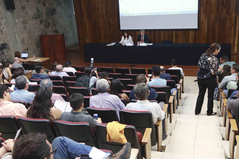 La sesion del Consejo del CUCSH se realizó en el auditorio del CUCSH