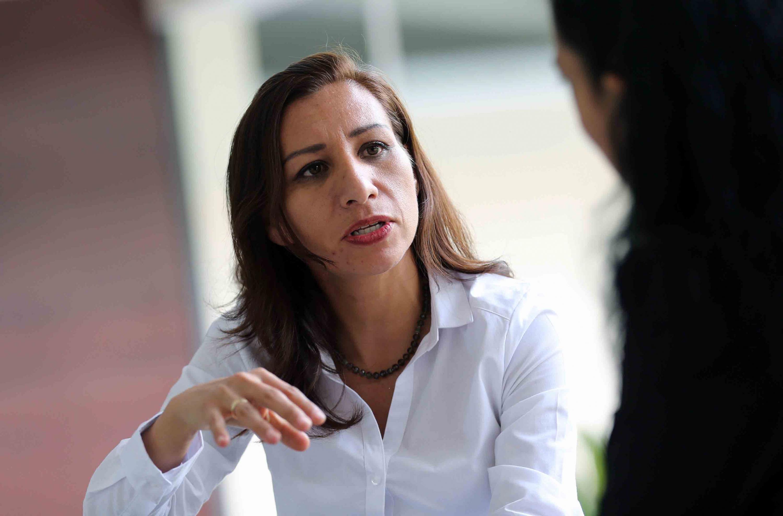 Doctora  Arcelia Ruiz Vázquez, egresada del doctorado interinstitucional en Psicología, avalado por cinco universidades