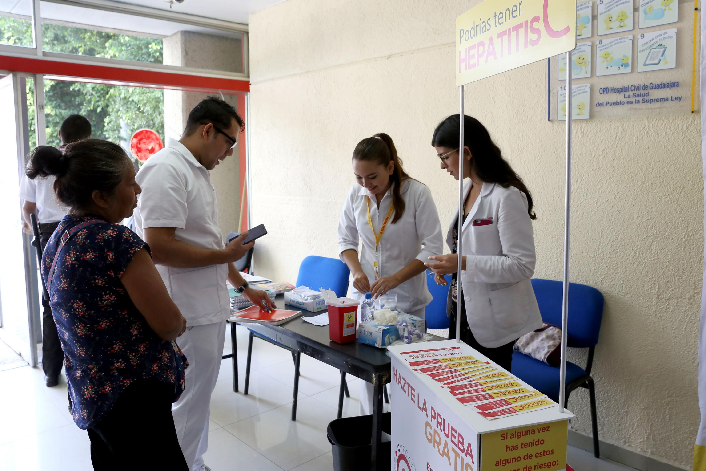 Modulo de exámenes para la detección de la Hepatitis C