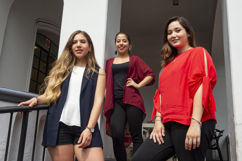 Las tres estudiantes de la UdeG que avanzaron en la competencia de emprendimiento TrepCamp