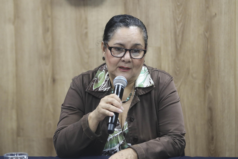 doctora María Guadalupe Covarrubias explicó que de cada 10  pacientes adultos solo dos son varones