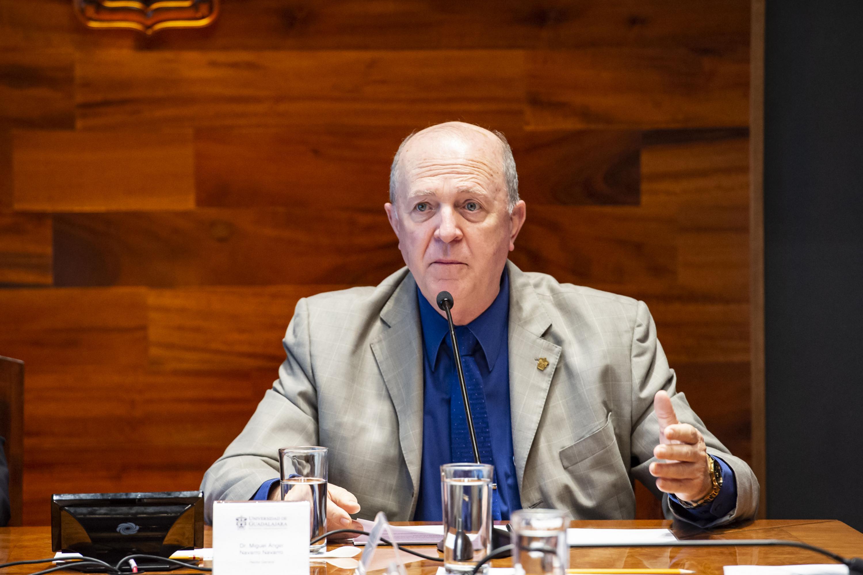 Doctor Miguel Ángel Navarro Navarro, Rector General de la UdeG