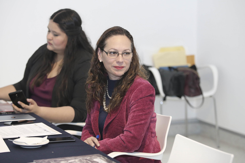 Secretaria Técnica del Consejo Regional Centro Occidente de la ANUIES, maestra Bertha Yolanda Quintero Maciel.