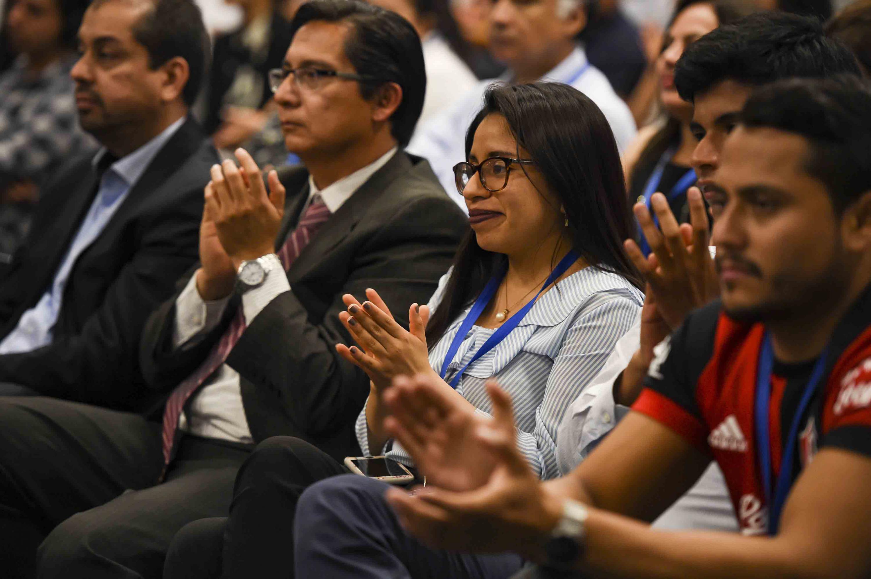 Publico asistente a la clausura del Vigésimo Tercer Congreso Internacional sobre la Reforma del Estado y de la Administración Pública  del Centro Latinoamericano de Administración para el Desarrollo (CLAD) 2018