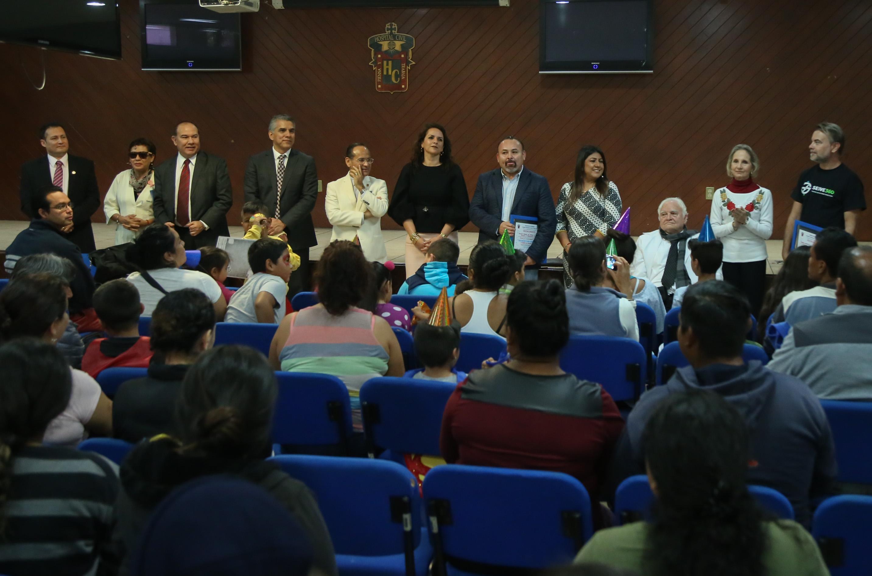 Acto de clausura del Festival de Entretenimiento Infantil.