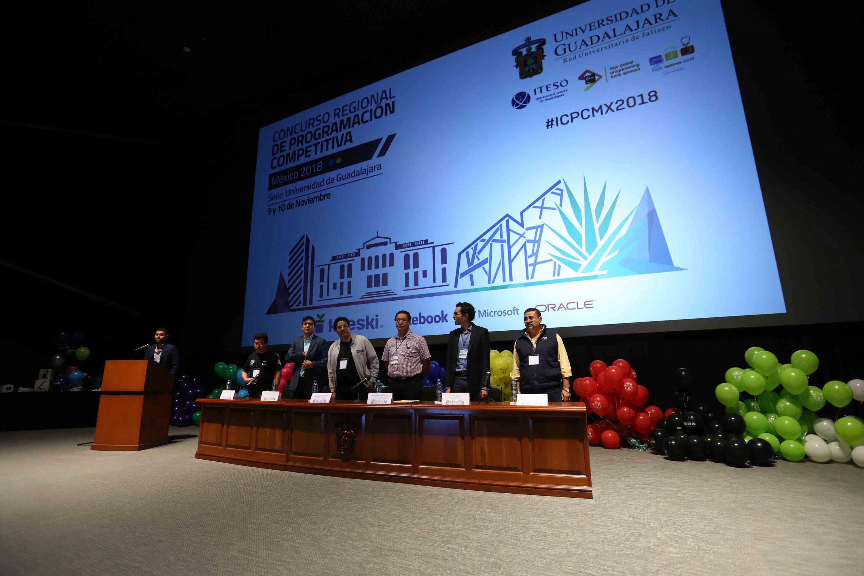 Ceremonia de clausura del Concurso Regional de Programación Competitiva México 2018 del International Collegiate Programming Contest (ICPC)