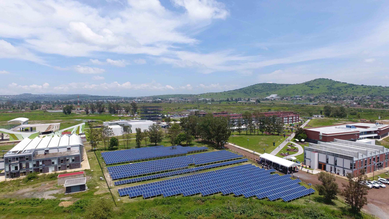 Vista panorámica del Centro Universitario de Tonalá (CUTonalá), de la Universidad de Guadalajara.
