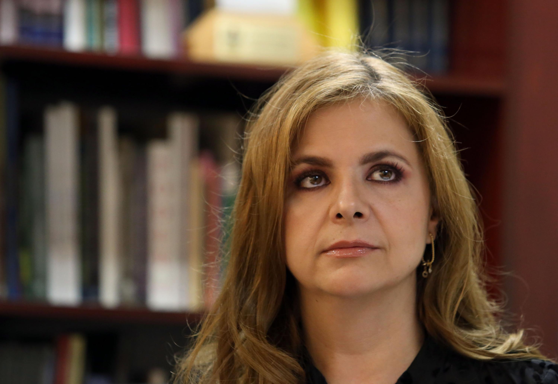 Secretaria Administrativa del CUCSH, maestra Karla Alejandrina Planter Pérez