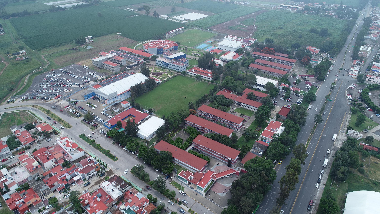 Vista panorámica de las instalaciones del Centro Universitario del Sur, en la región.