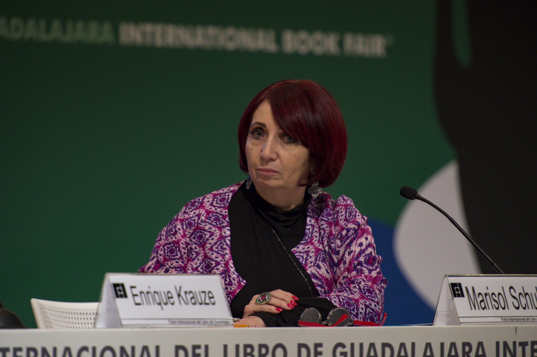 Marisol Schultz, Directora de la FIL, participante como panelista en el evento.