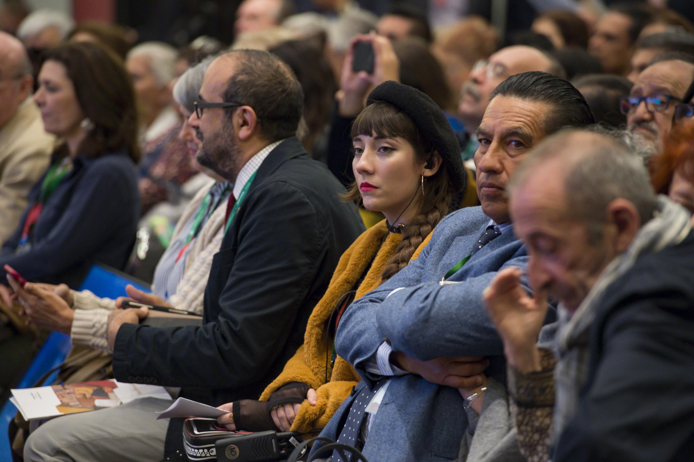 Vista panorámica del público asistente al evento.