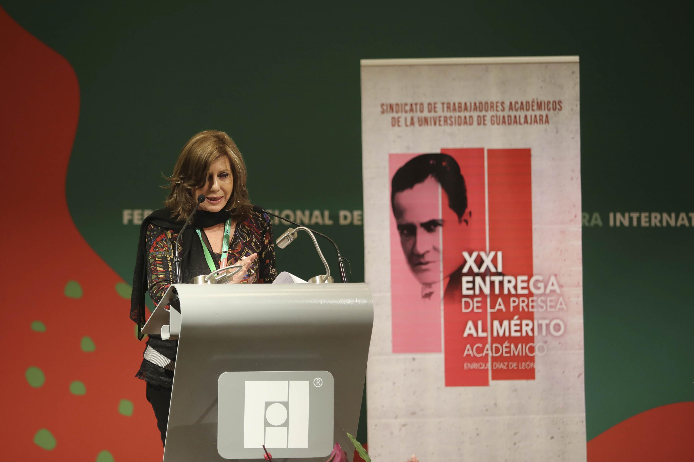 Doctora Graciela Bensusán, sociologa, profesora e investigadora de la Universidad Autónoma Metropolitana,