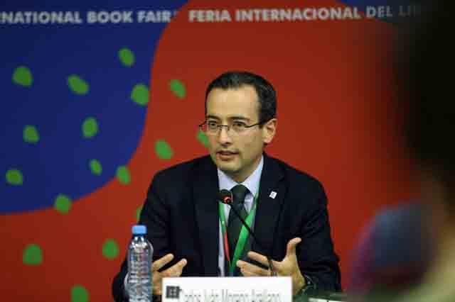 Doctor Carlos Iván Moreno Arellano, haciendo uso de la palabra