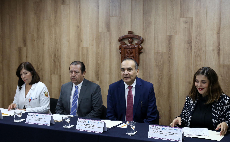 Rueda de prensa para anunciar los módulos de Otorrinolaringología y Medicina de Rehabilitación del CIAM