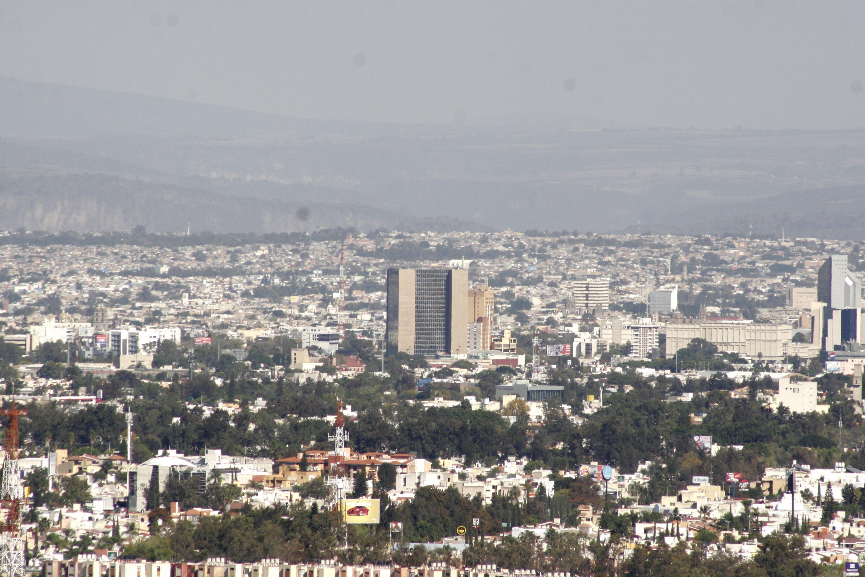Vista panoramica de la ciudad de Guadalajara desde las afueras