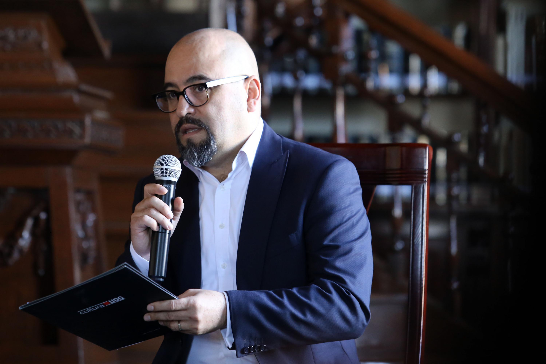 Licenciado Ángel Igor Lozada Rivera Melo, Secretario de Vinculación y Difusión Cultural de la UdeG.