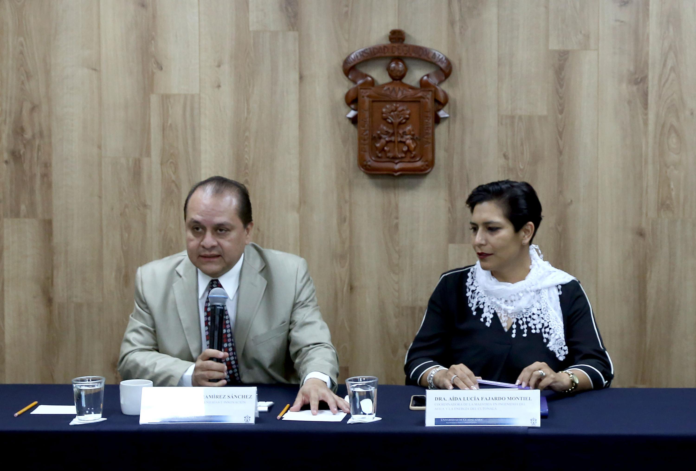 Rueda de prensa para analizar el cambio climático y la crisis de agua en la zona metropolitana de Guadalajara