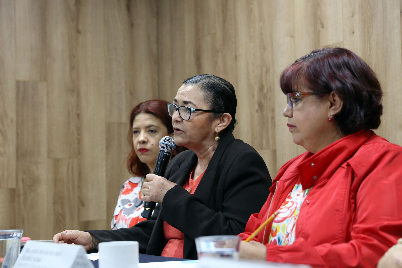 Rectora de Centro Universitario de Ciencias Exactas e Ingenierías, doctora Ruth Padilla Muñoz, en uso de la palabra