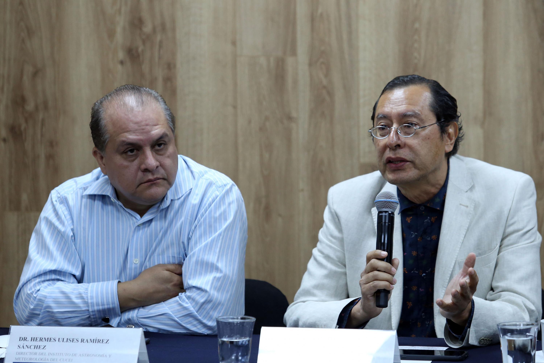 Investigador del Instituto de Medio Ambiente y Comunidades Humanas, del Centro Universitario de Ciencias Biológicas y Agropecuarias (CUCBA), doctor Arturo Curiel Ballesteros, en uso de la palabra