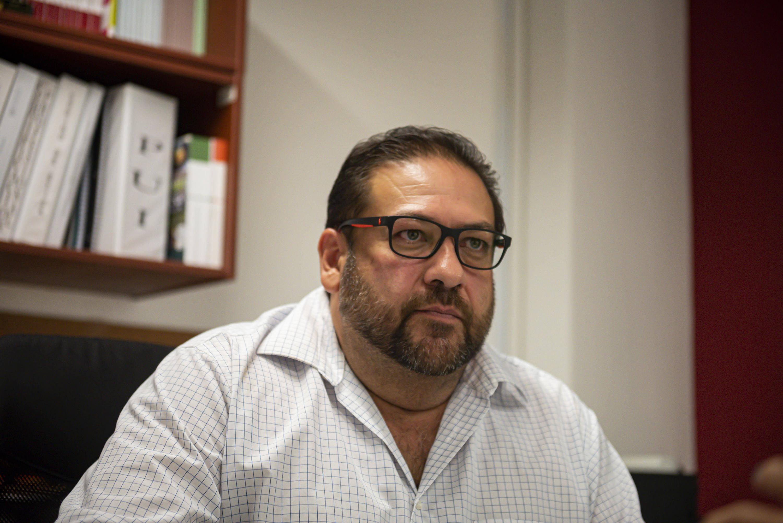 El Coordinador General de Extensión, maestro Gerardo Alberto Mejía Pérez