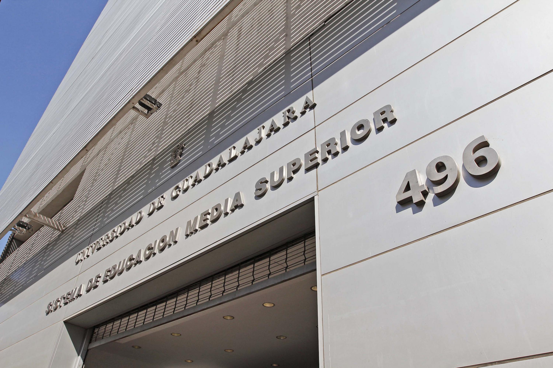 Fachada de edificio del Sistema de Educación Media Superior (SEMS)