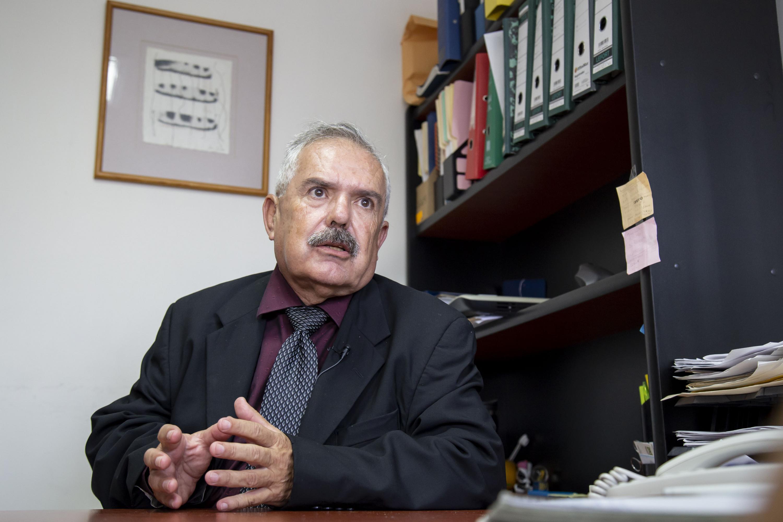 Investigador del Centro Universitario de Ciencias de la Salud (CUCS), de la Universidad de Guadalajara, el doctor Sergio Horacio Dueñas Jiménez
