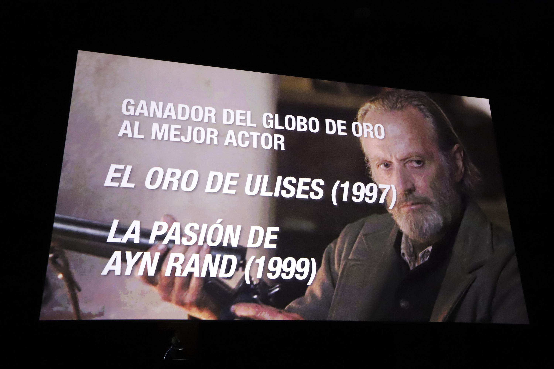 Se realizó un emotivo homenaje a Peter Fonda, dos veces ganador del Globo de Oro