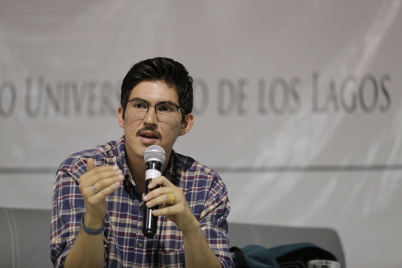 El fotoperiodista dos veces ganador del Premio Jalisco de Periodismo (2015 y 2017),  Fabricio Atilano