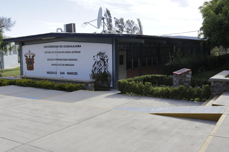 Instalaciones de Módulo San Marcos de la Preparatoria de Etzatlán de la Universidad de Guadalajara (UdeG)
