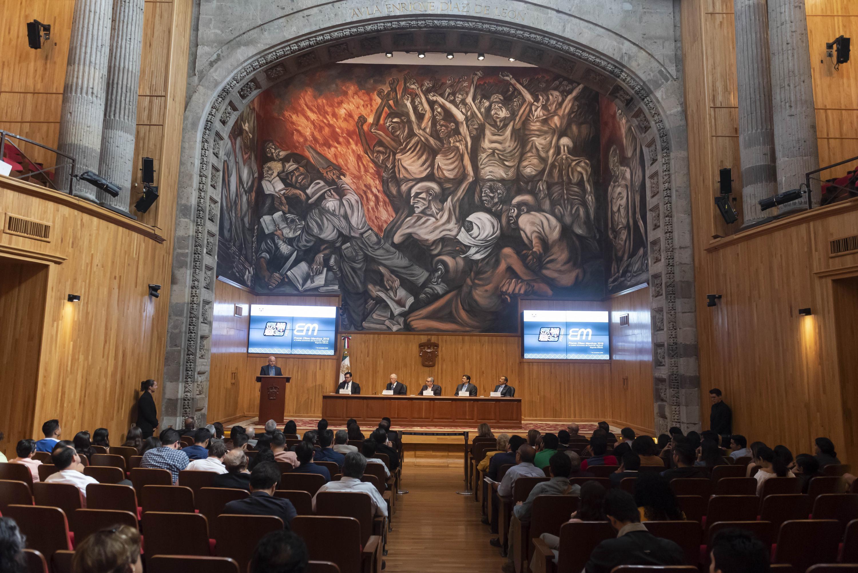 La entrega del Premio Eliseo Mendoza 2019 al Análisis Económico del Desarrollo Regional, en su segunda edición