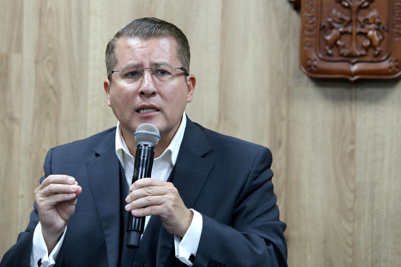 El Defensor de los Derechos Universitarios de la Universidad de Guadalajara, doctor Dante Haro Reyes