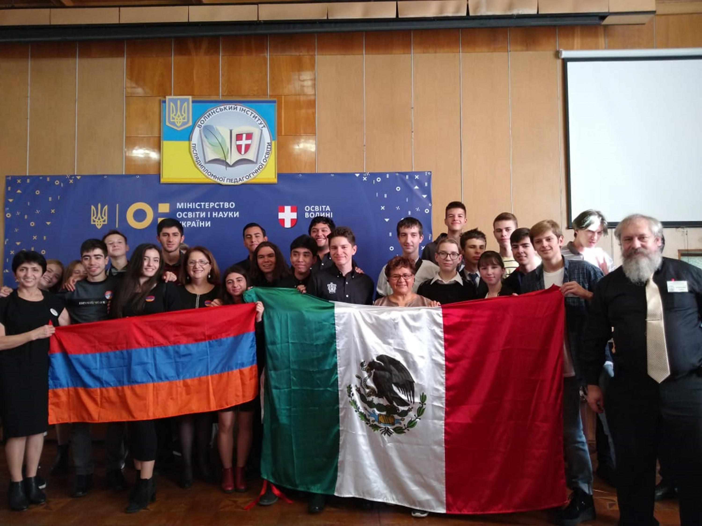 Estudiantes y académicos en el XXVII Torneo de Jóvenes Químicos en Ucrania  (Tournament of Young Chemists)
