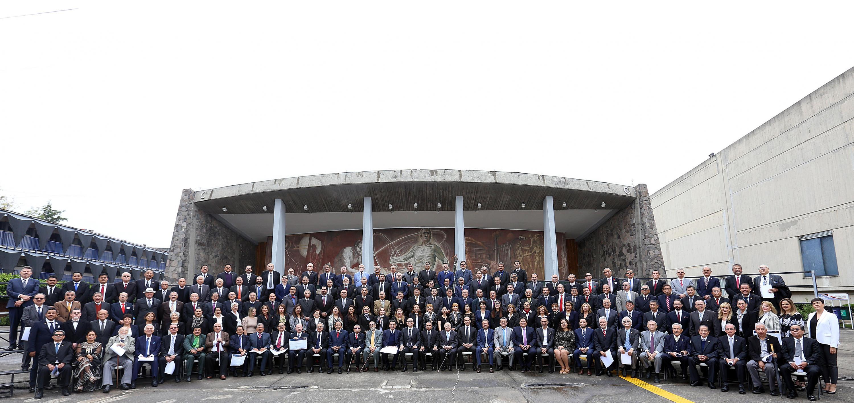 El 227 aniversario de la primera Cátedra de Derecho en Guadalajara, en un acto que tuvo lugar en el auditorio Salvador Allende del CUCSH