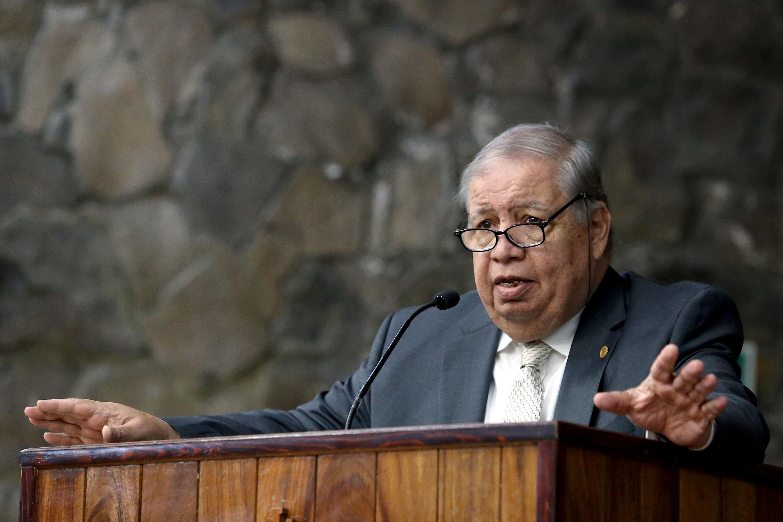 El rector de Centro Universitario de Ciencias Sociales y Humanidades, Dr. Juan Manuel Durán Juárez