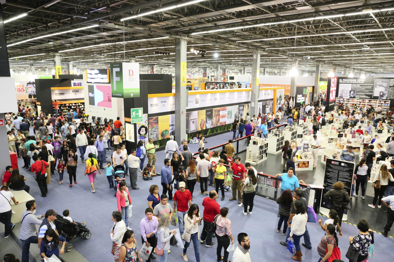 Feria Internacional del Libro de Guadalajara en la Expo Guadalajara