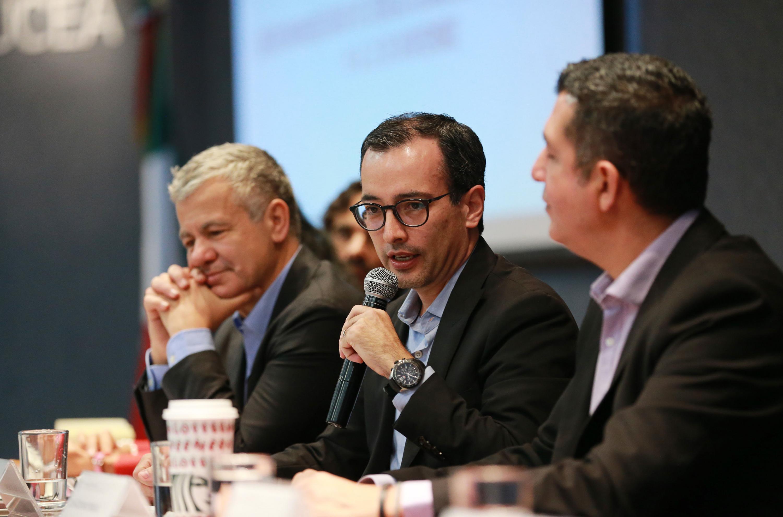 El Coordinador General Académico de esta Casa de Estudio, doctor Carlos Iván Moreno Arellano, en uso de ela palabra