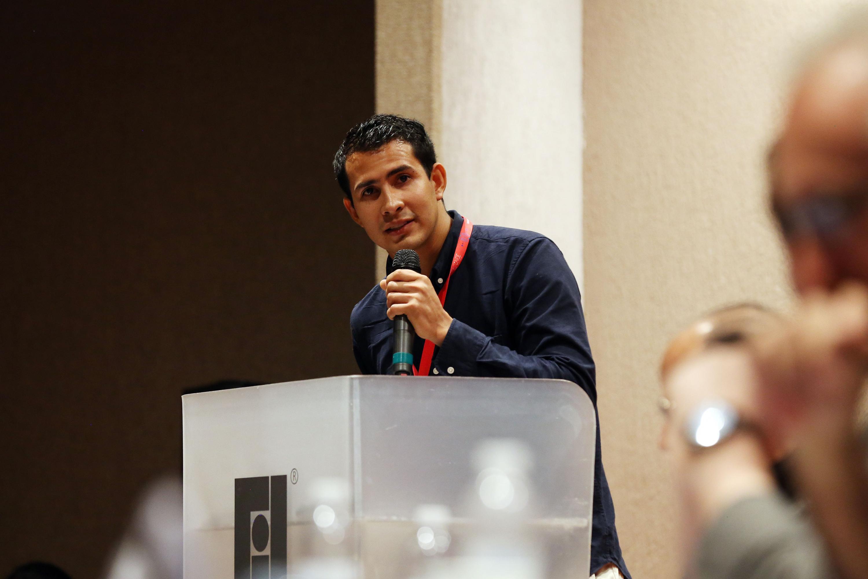 El Presidente de la FEU, Francisco Javier Armenta
