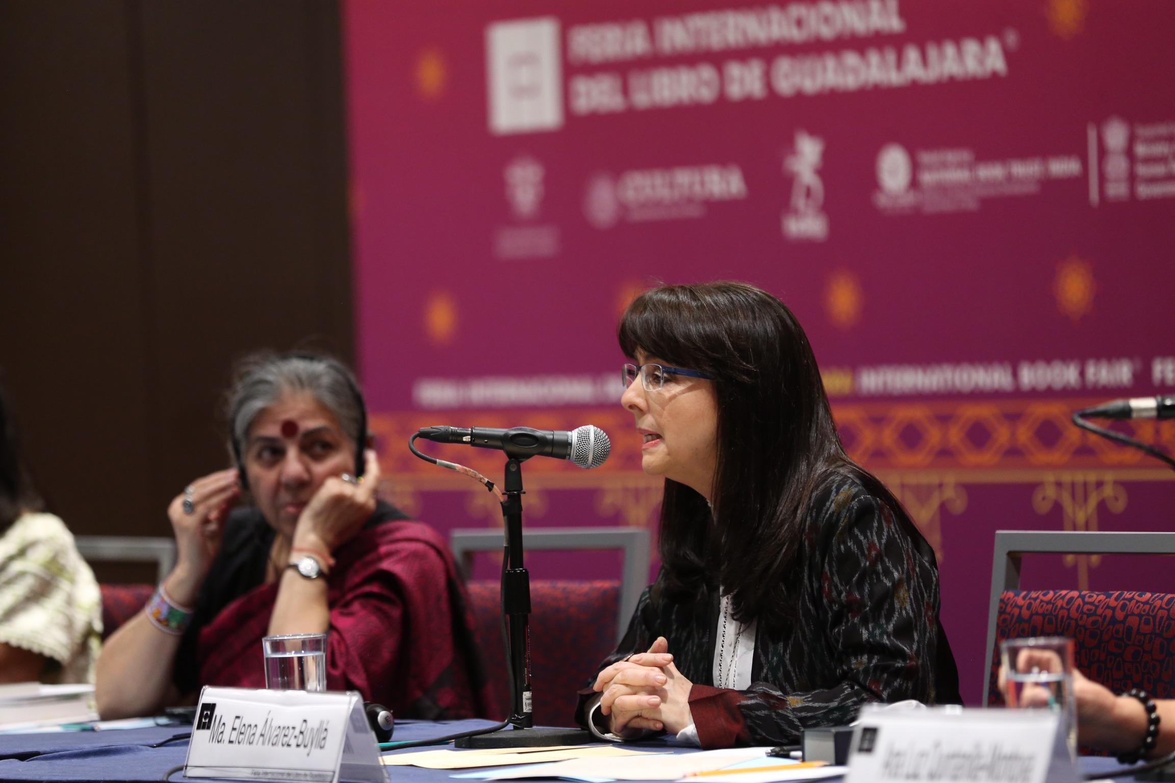 La doctora María Elena Álvarez-Buyllá, directora general del Consejo Nacional de Ciencia y Tecnología