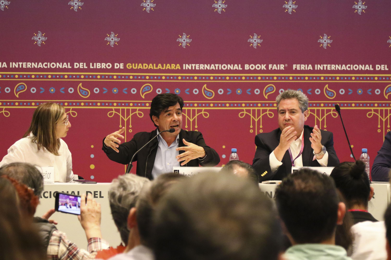 El Director General de Comunicación Social del Gobierno de la República, Jesús Ramírez Cuevas, en uso de la palabra