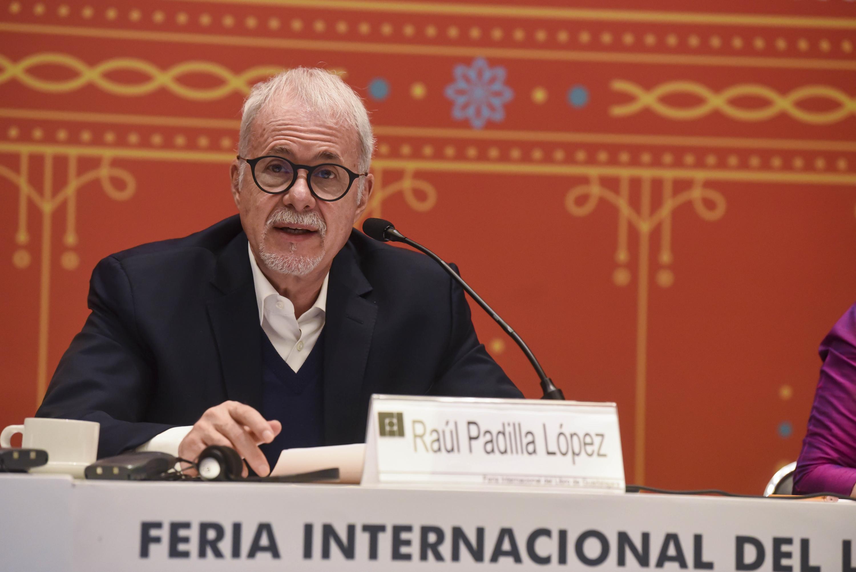 El Presidente del patronato de la feria, licenciado Raúl Padilla López