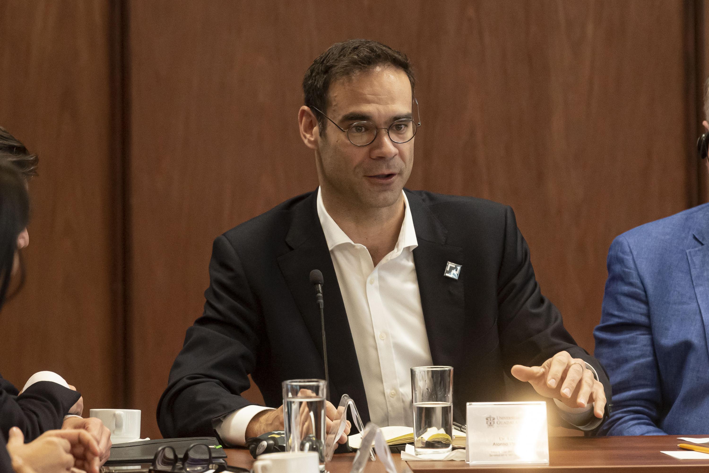 El investigador del grupo City Science del MIT Media Lab, doctor Luis Alonso Pastor