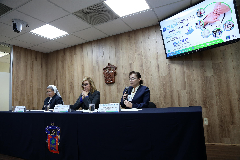 Rueda de prensa para hablar sobre el IX Congreso Internacional de Enfermería CIENF 2020