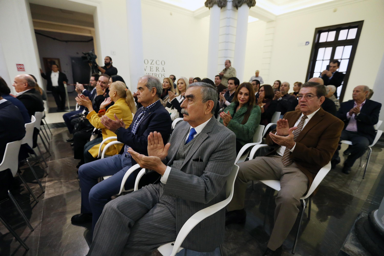 Miembros de la comunidad universitaria, familiares y amigos recordaron este miércoles a Constancio Hernández Alvirde